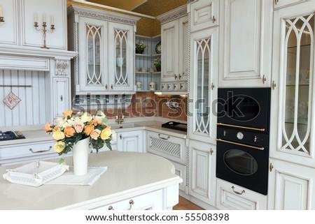 Expensive Modern Kitchen Stock Photo Royalty Free 55508398