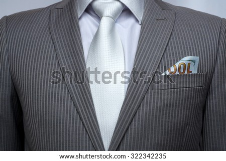 Expensive suit - stock photo