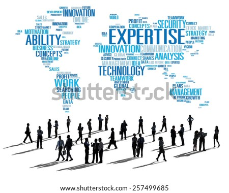 Expertise Career Job Profession Occupation Concept - stock photo