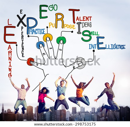 Expertise Learning Knowledge Skill Expert Concept - stock photo