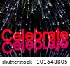 Exploding Fireworks For New Years Or Independence Celebrations - stock photo