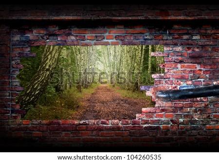 exploration concept - stock photo