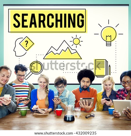 Explore Explorer Research Searching Study Concept - stock photo