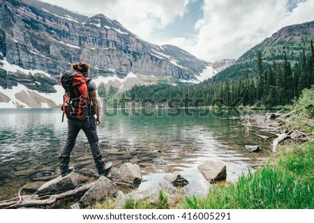 Exploring - stock photo