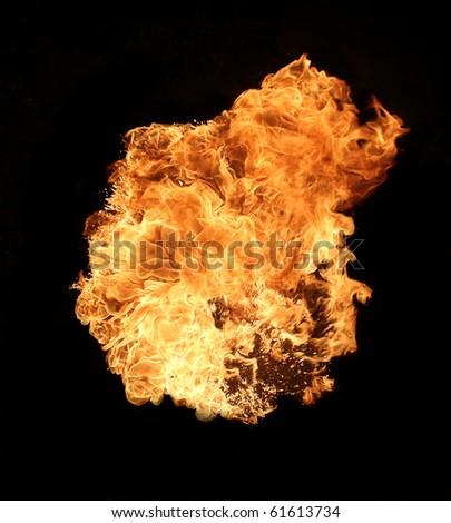 Explosion - stock photo
