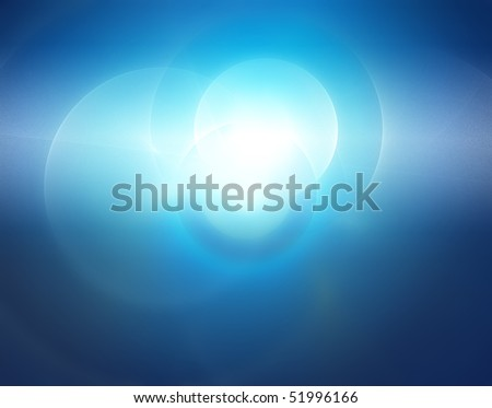 explosion of light, creative background abstract blue