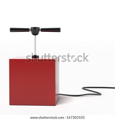 explosive detonator - stock photo