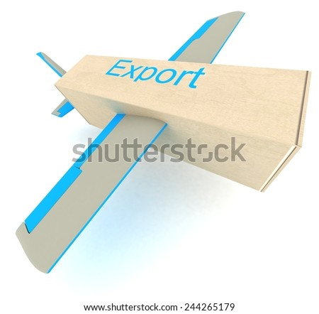 Export - stock photo