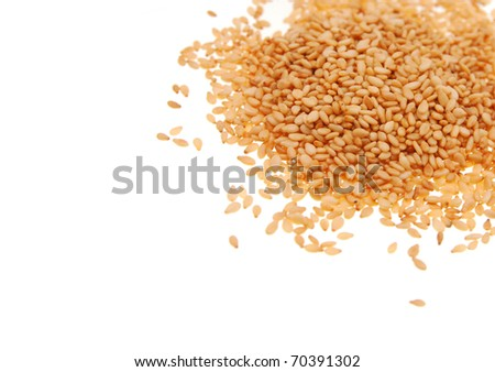 Export sesames from asia - stock photo