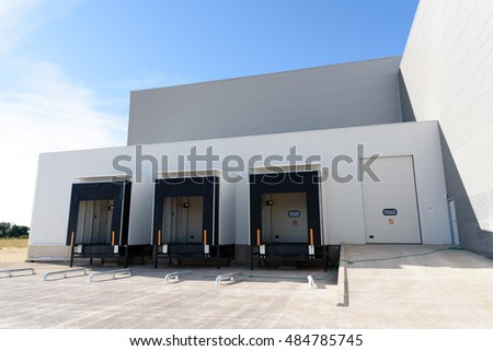 Trucking Loading Docks Stock Photo 50571325 Shutterstock