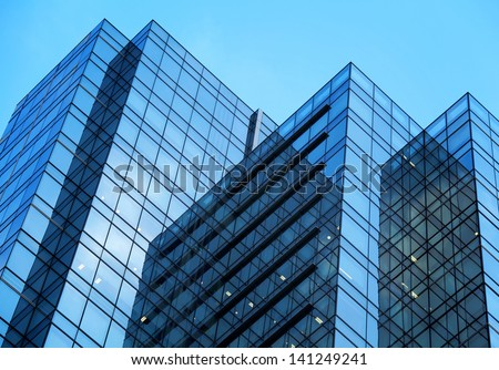 Exterior of building - stock photo
