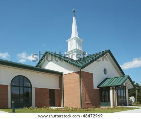 Exterior modern american church contemporary architecture stock exterior of modern american church with contemporary architecture sciox Gallery