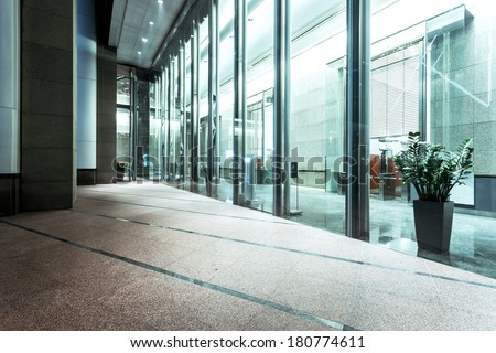 exterior of modern buildings  - stock photo