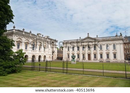 Exterior of the senate building, Cambridge, UK - stock photo