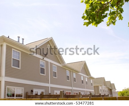 exterior outdoor view of housing property