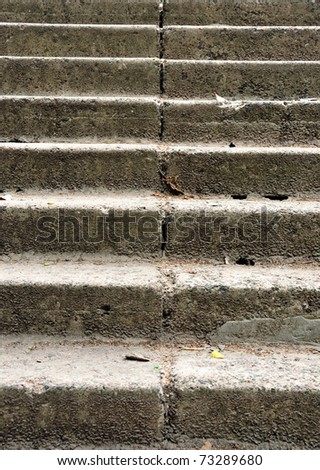 Exterior Stone Staircase