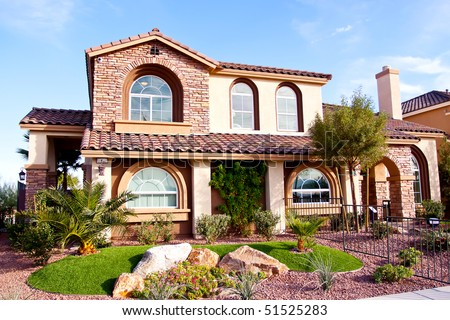 Stucco And Brick Exterior stucco house stock images, royalty-free images & vectors