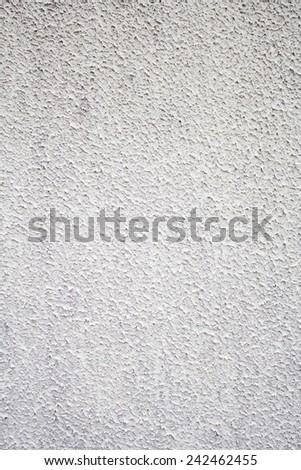 Exterior wall gray urban building, construction - stock photo