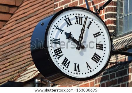 External clock - stock photo