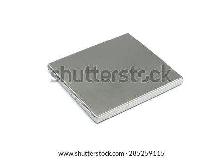 External DVD, CD Writer - stock photo
