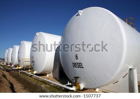 External Fuel Tanks - stock photo