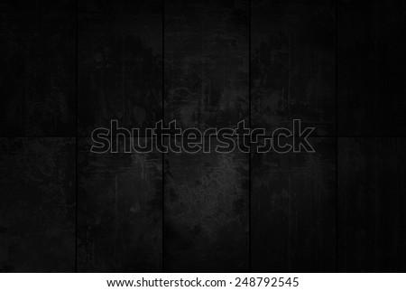 Extra Dark Tiled Background  - stock photo