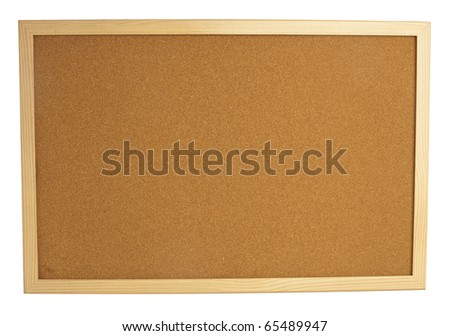 extreme closeup of a cork billboard texture - stock photo