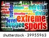 Extreme Sports Grunge Background as a Art - stock vector