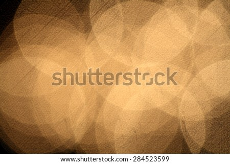 Extremely de-focused lights giving an abstract pattern - stock photo