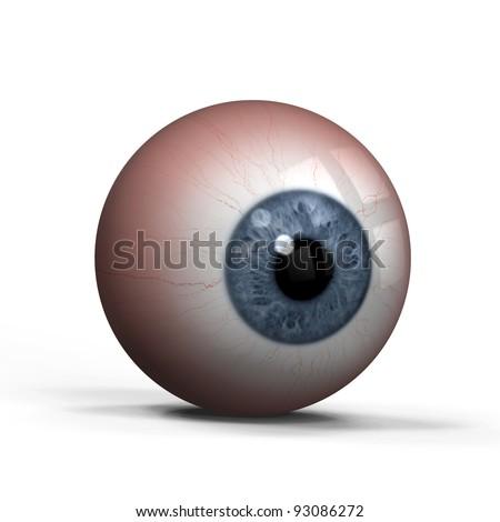 eye ball - stock photo