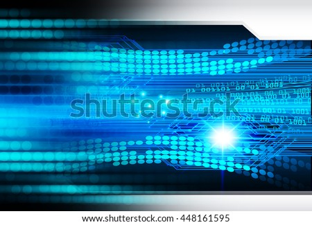 eye future technology, security concept background, Dark blue cyber Light Abstract for computer graphic website internet. circuit. illustration. infographics. motion move. binary