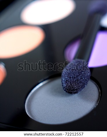 Eye makeup - stock photo