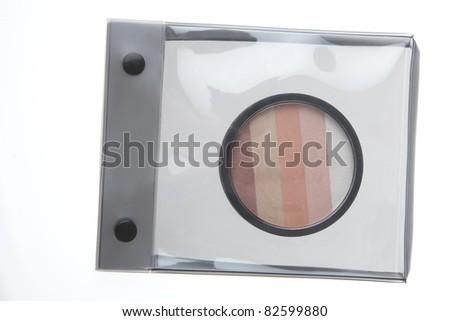 eye shadow - stock photo