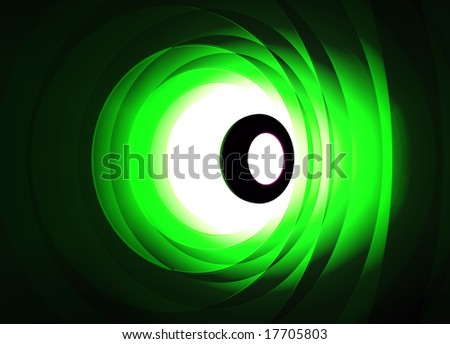 Eye Shaped Modern abstract background pattern illustration