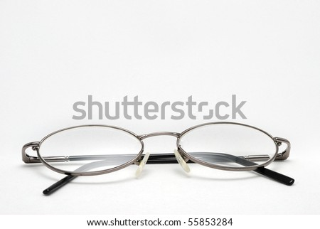 Eyeglasses isolated on white