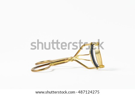 Eyelash Curler isolated on white background.
