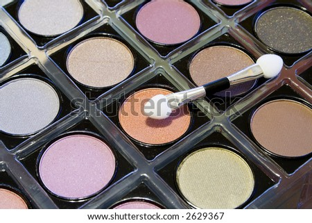 Eyeshadow - stock photo