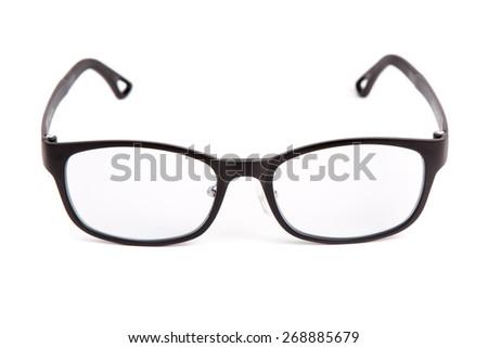 eyewear on white background. - stock photo