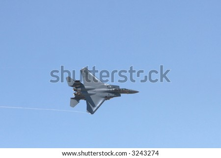 F15 Fighter Jet In Flight