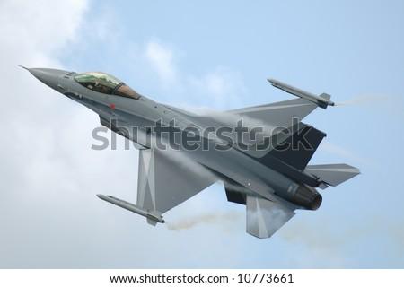 F-16 Fighting Falcon - stock photo