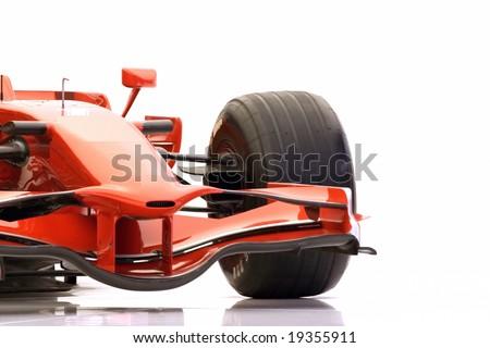 F1 Racing Car - stock photo