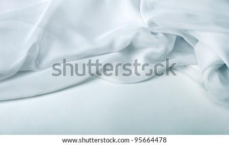 fabric background - stock photo