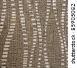 Fabric brown texture stripe pattern - stock photo