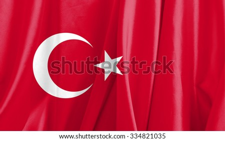 Fabric Flag of Turkey