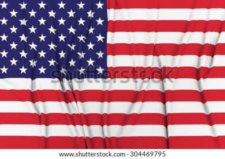 Fabric Flag of United States of America