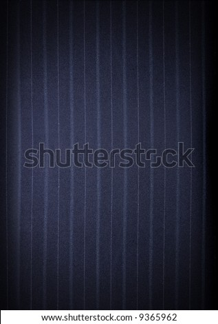 Fabric pin stripe pattern material - stock photo