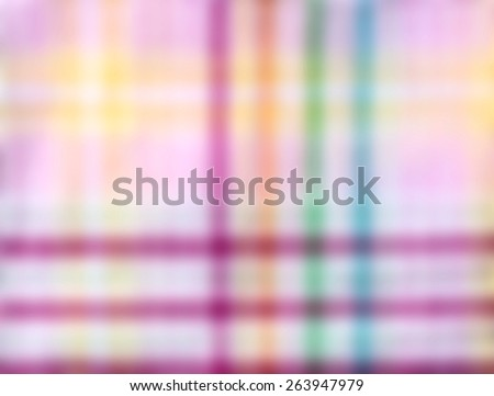 Fabric plaid texture. Cloth background, out focus - stock photo