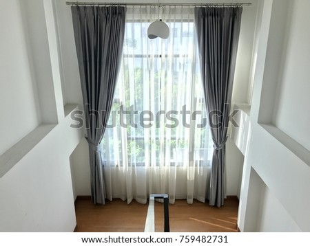 Captivating Fabric See Through Curtain For Home Decoration