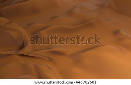 Fabric silk texture 3d illustration - stock photo