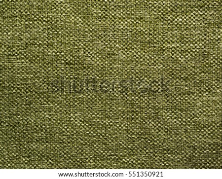 Fabric texture background. Green